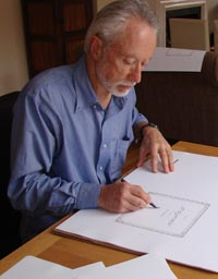 J.M. Coetzee signing the First Chapter Series