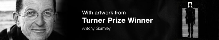 With artwork from Turner Prize Winner Antony Gormley