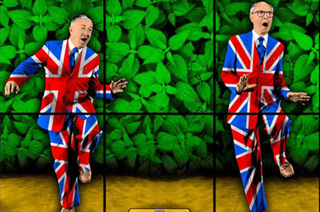 Gilbert & George - Nettle Dance